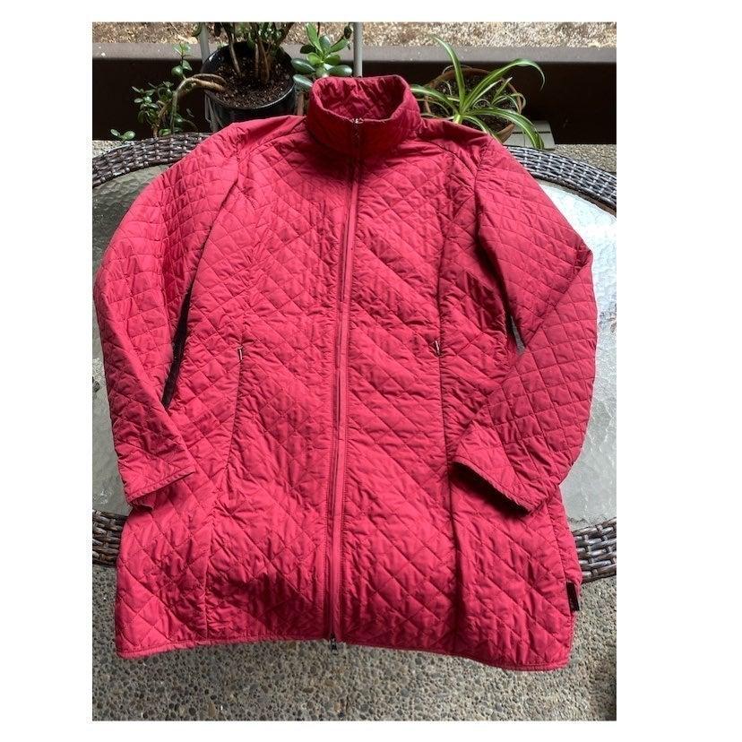 Columbia XCO puffer jacket medium red