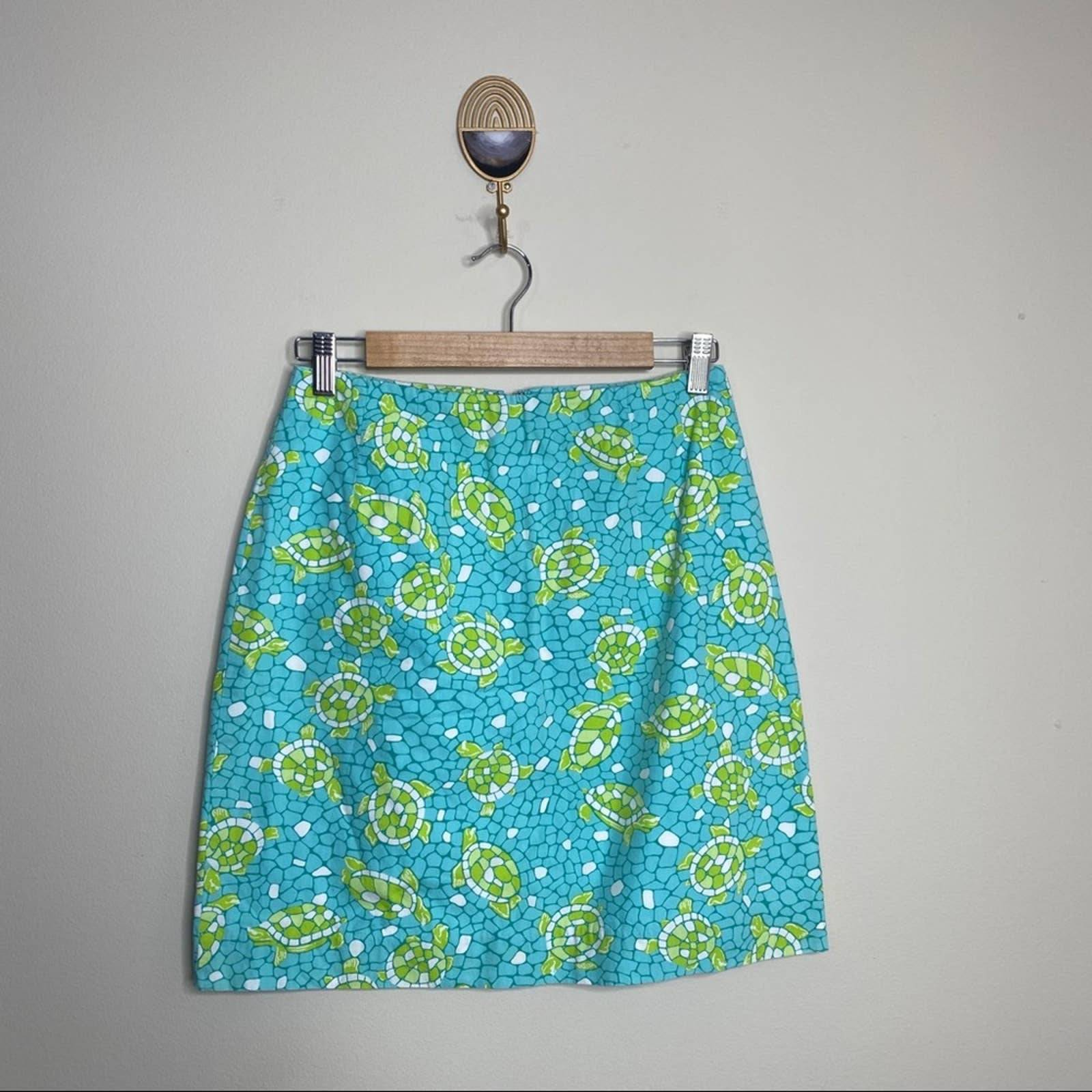 Vintage Lilly Pulitzer Sun Baked Skirt 4