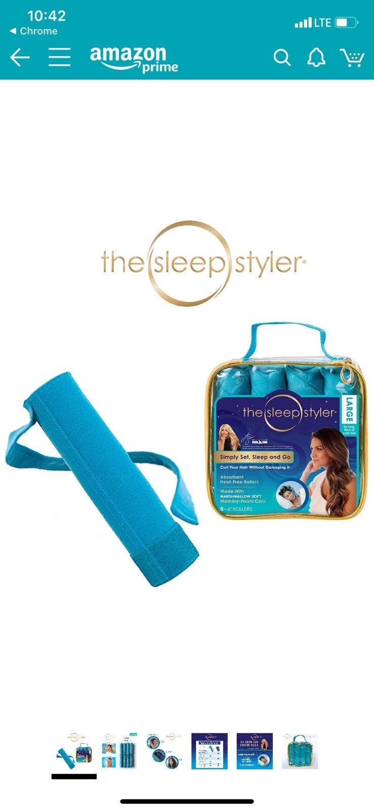 Sleepstyler curlers