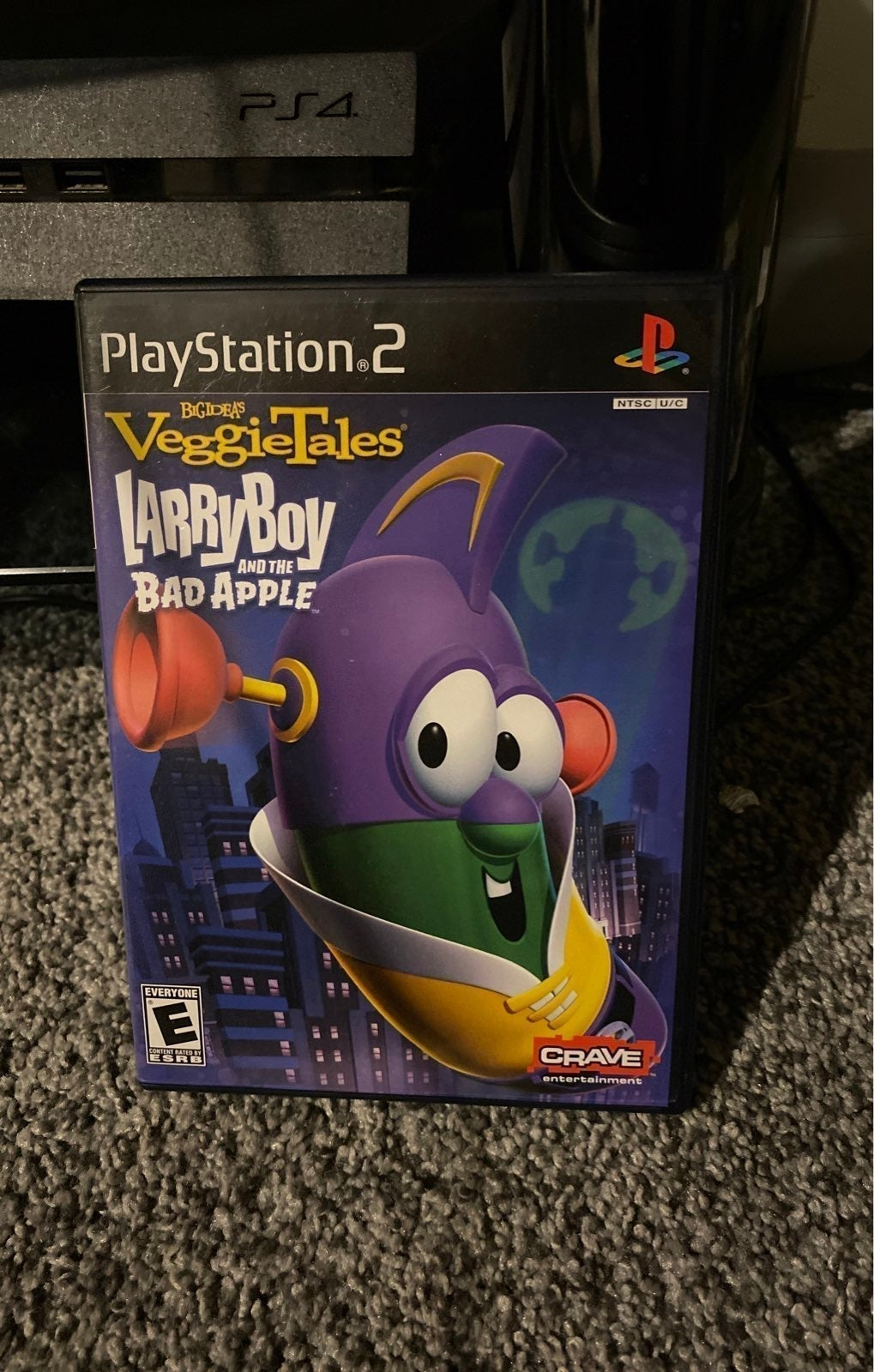 Larry Boy And The Bad Apple PS2 Game