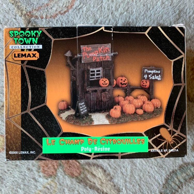 LEMAX Spooky Town Pumpkin Patch 2000 Ret