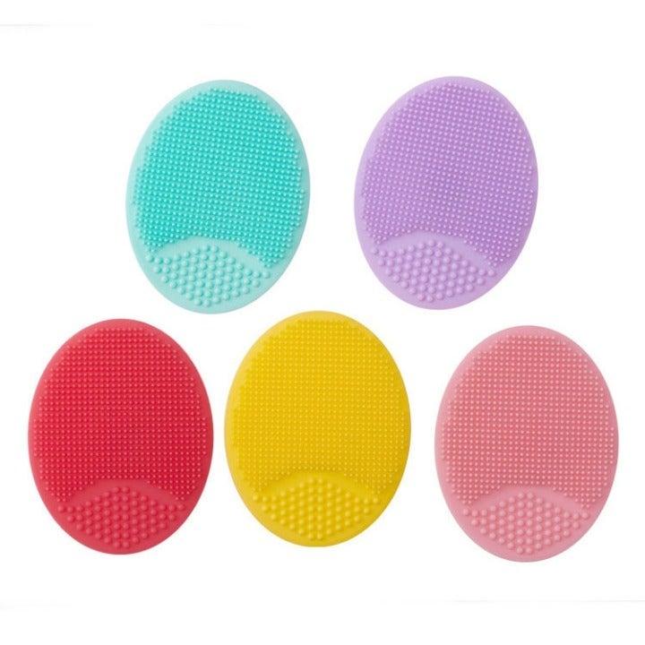 BULK 100 Scrubber Pads Silicon Makeup