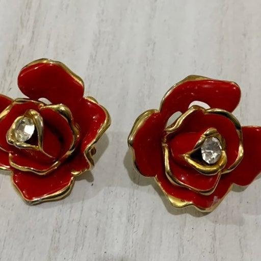 Vintage GEM-CRAFT clip earrings