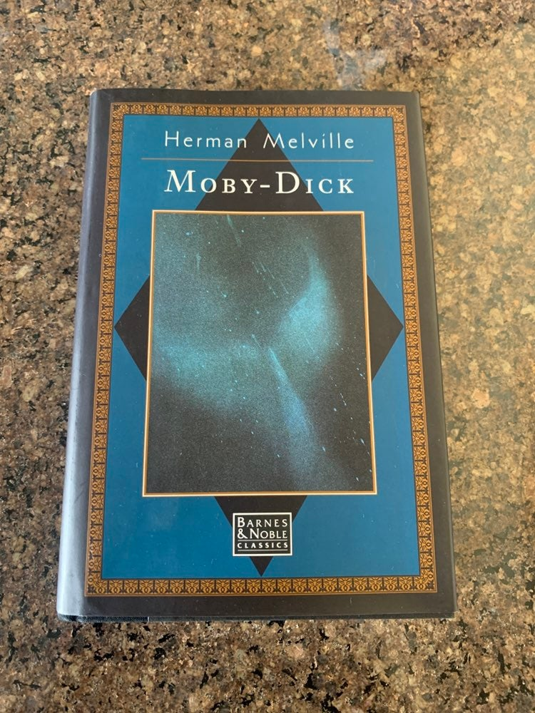 """Moby Dick"" Herman Melville Hardcover"
