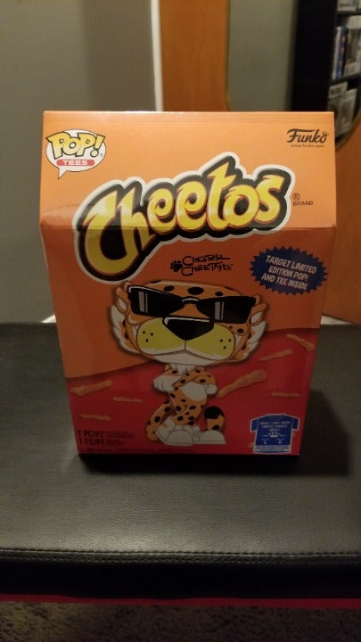 Funko pop Chester Cheetah GITD & Tee