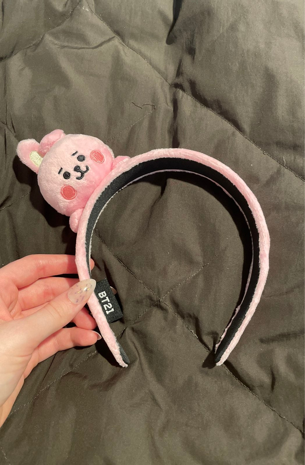 BT21 Cooky baby plush headband