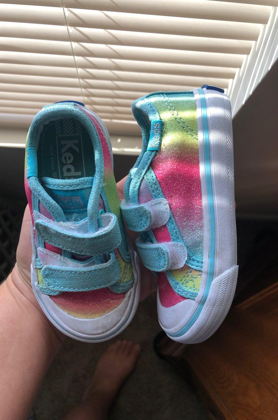 Rainbow Sparkle Keds 5.5