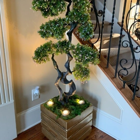 """Serenity-Tree Are Handcrafted Art Pieces with Healing Intentions """"Each Tree has"""
