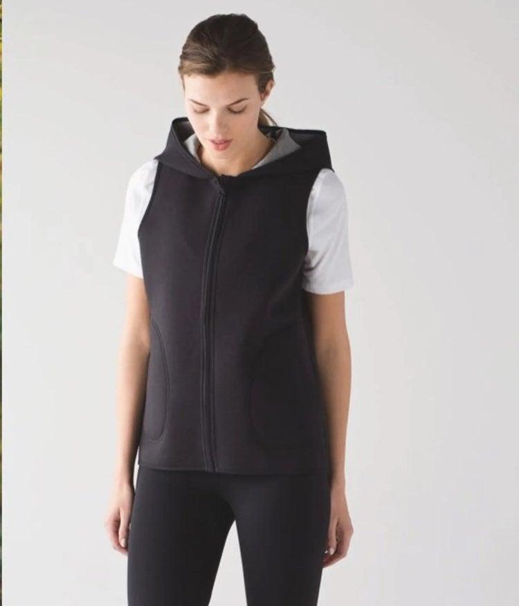 Lululemon Insculpt Vest Black / Gray