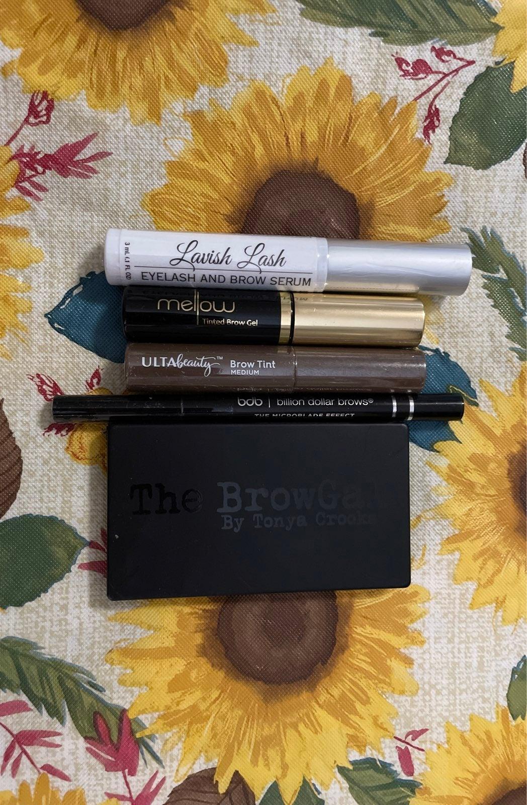 NEW NEVER USED Brow makeup bundle