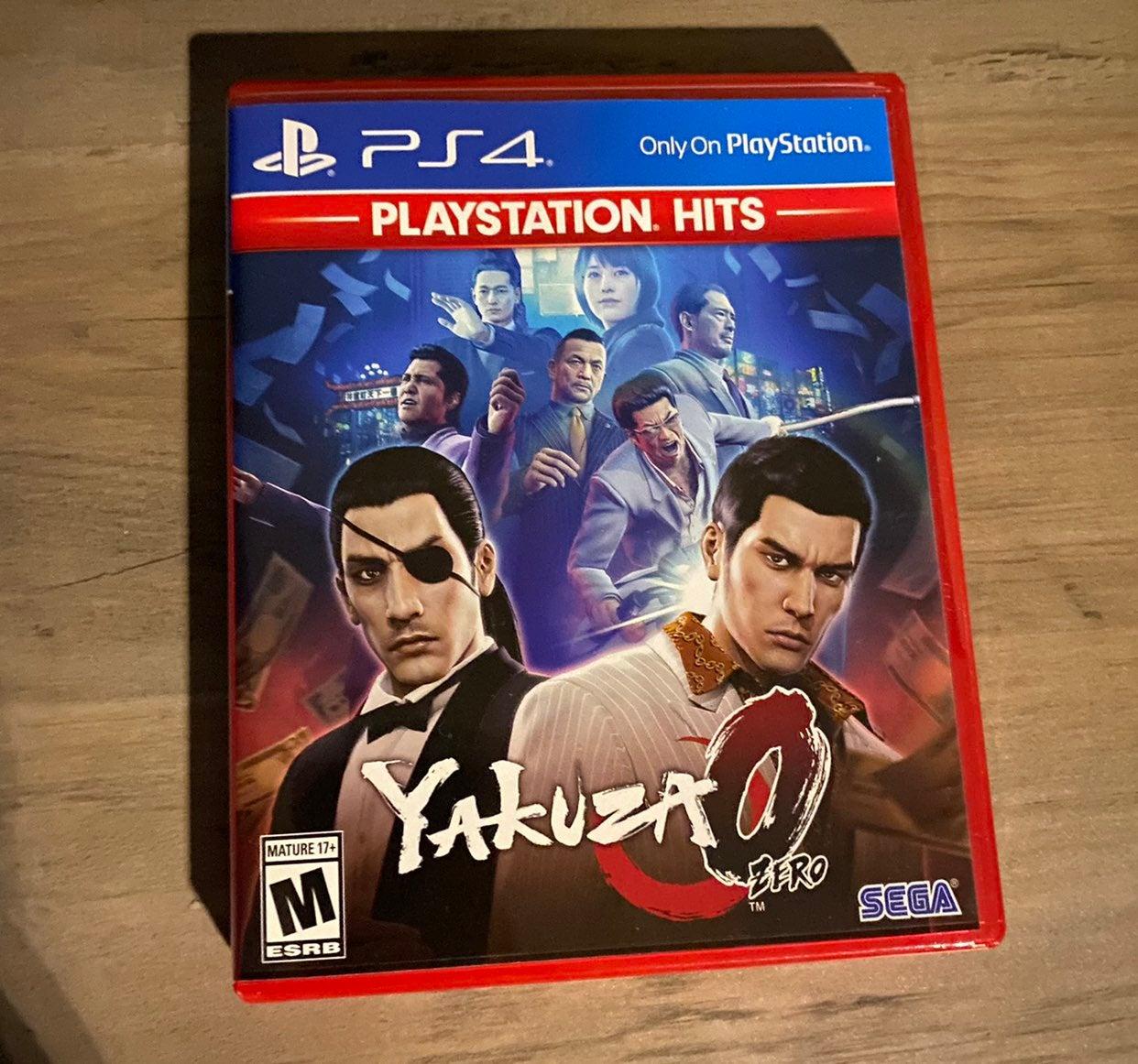Yakuza 0 PS4 Playstation Hits
