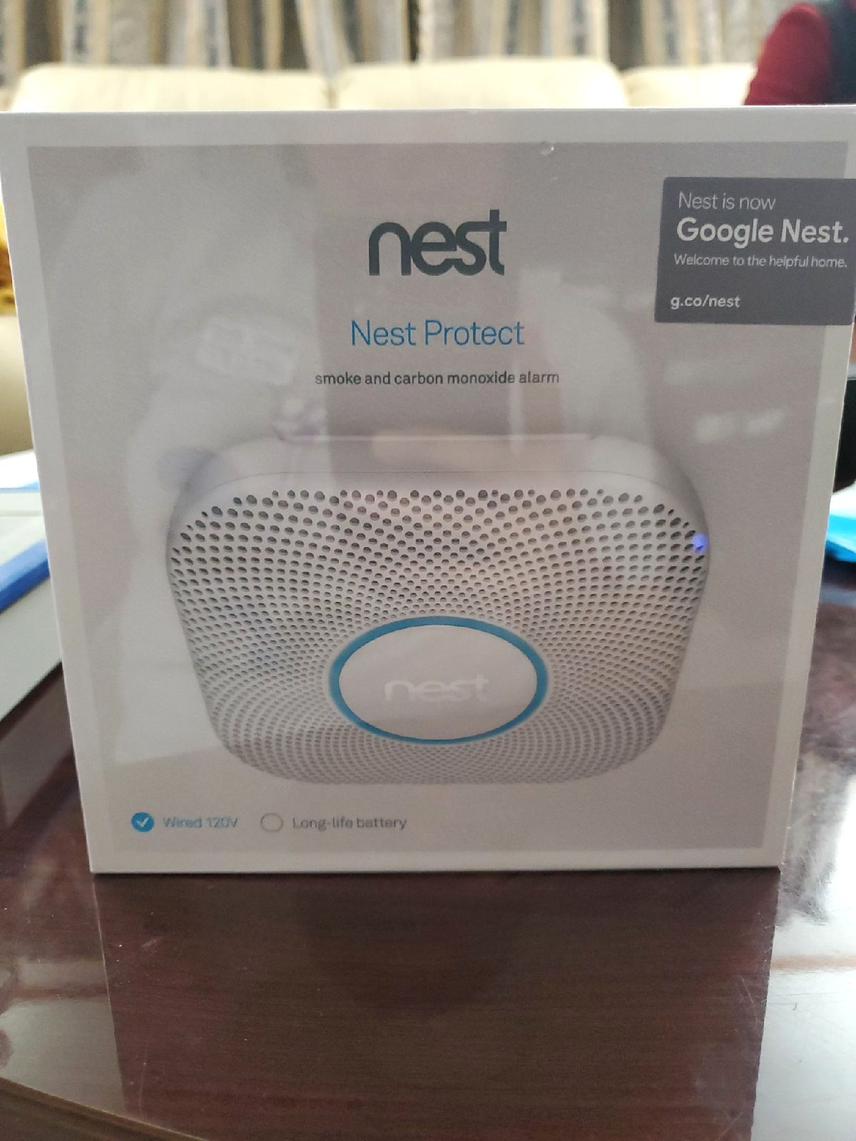 Google Nest Smoke and Carbon Monoxide Al