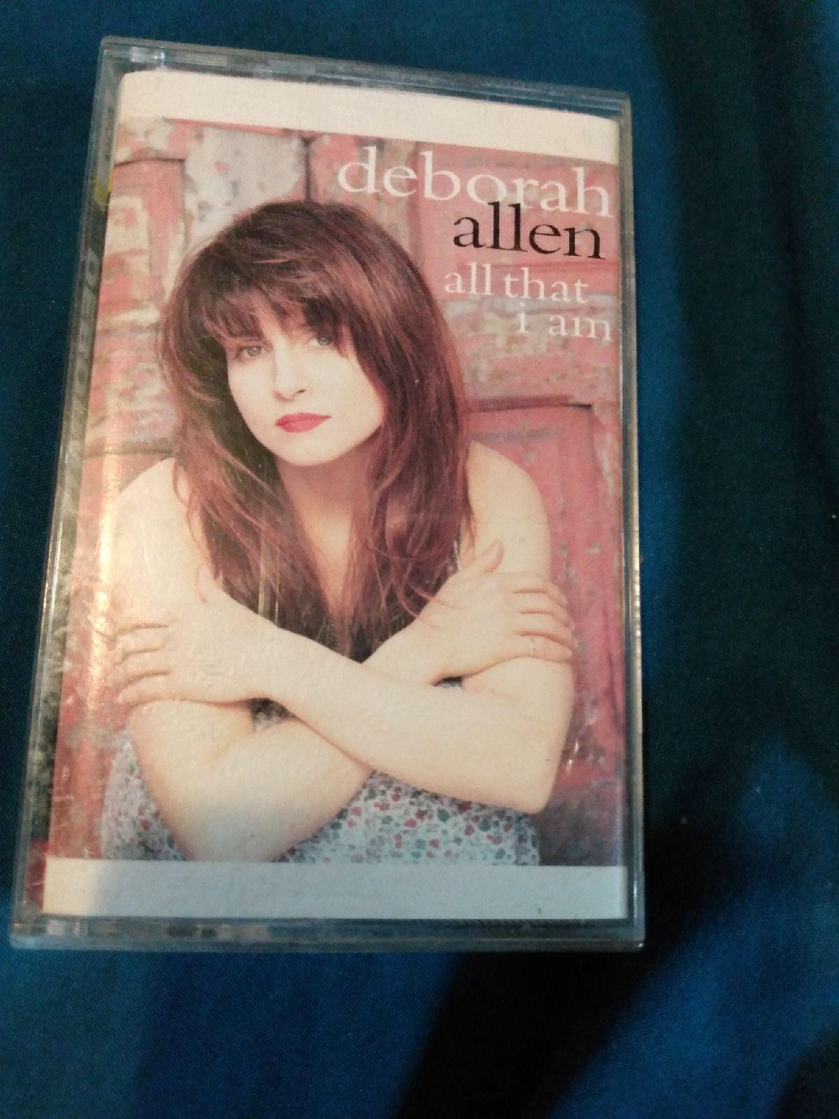 Deborah Allen cassette tape
