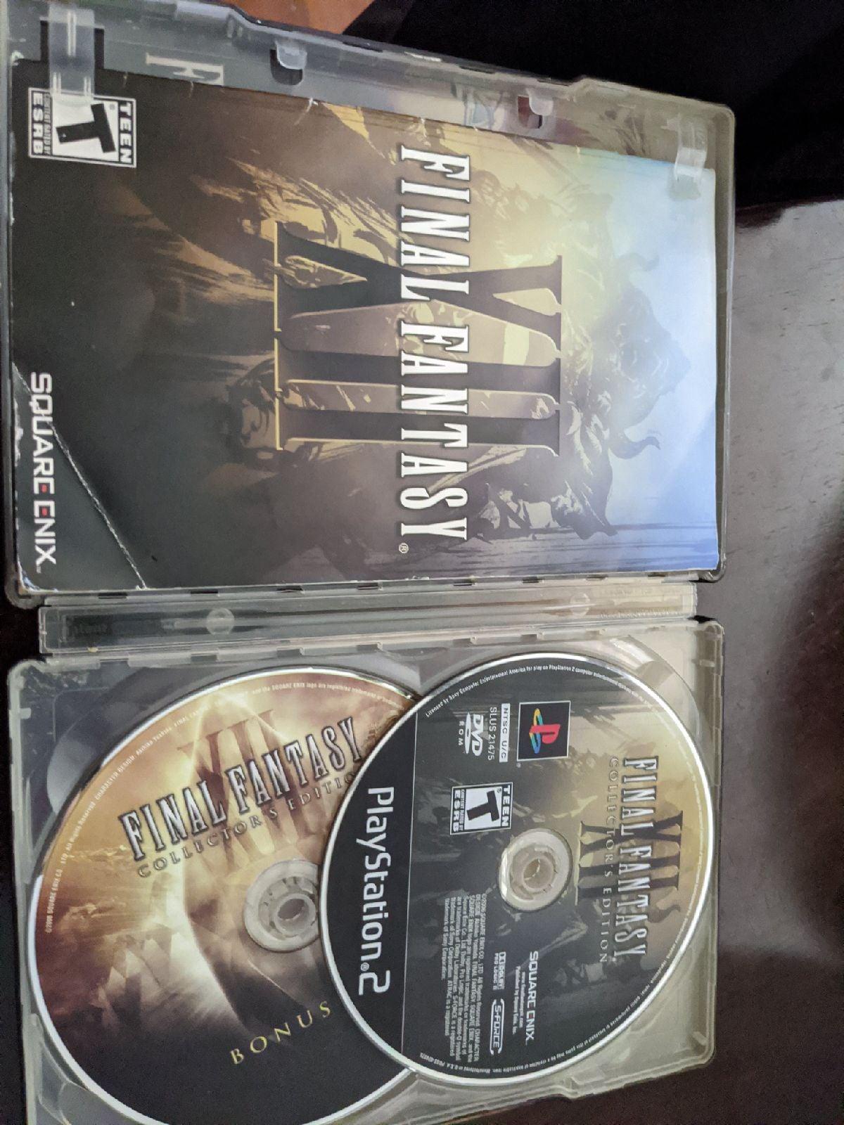 Final fantasy 12 Collector's Edition PS2