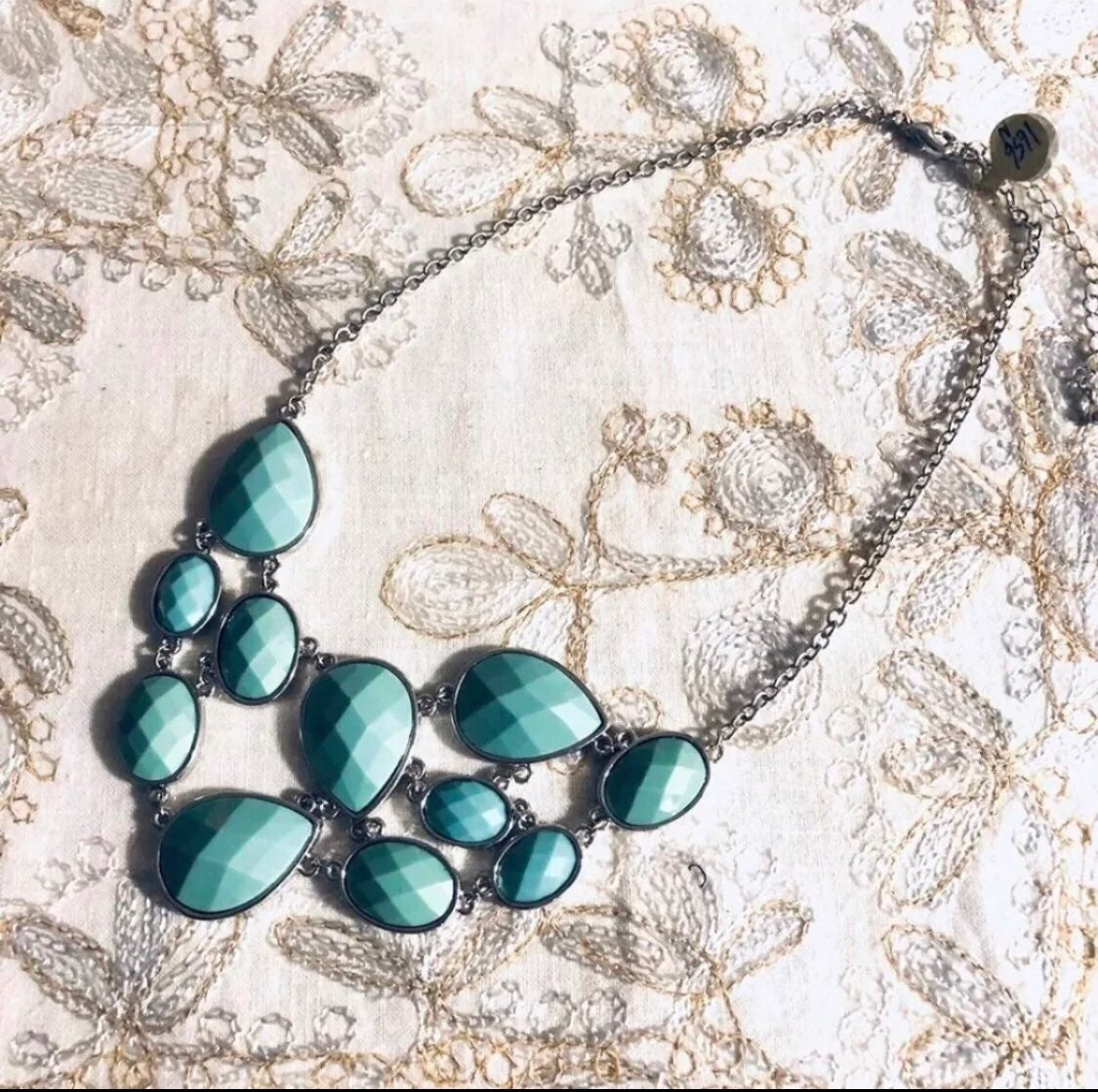 Blue Necklace - new
