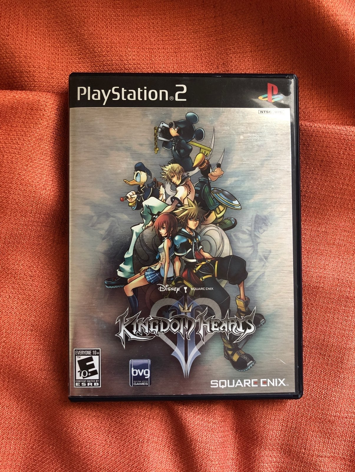 Kingdom Hearts 2 PS2 (shiny cover)