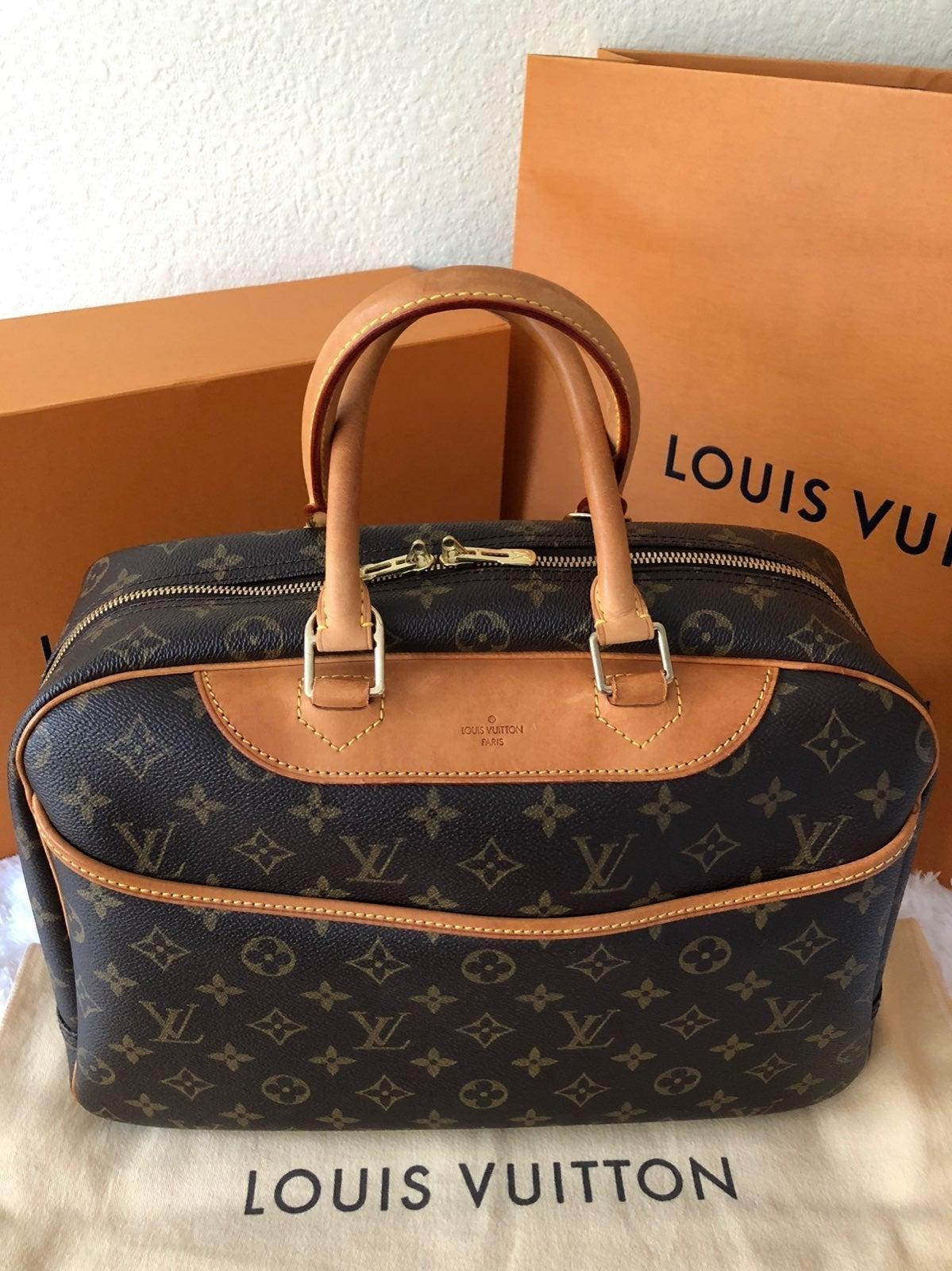 Louis Vuitton Deauville Mono Satchel Bag