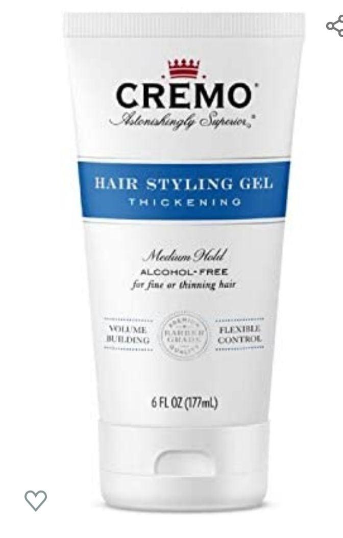 Hair styling Gel thickening formula