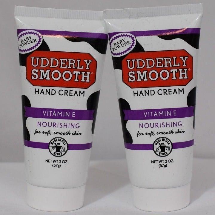 Lot of 2 Udderly Smooth Hand Cream