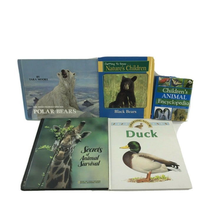 5 Non-fiction Kids Books About Animals