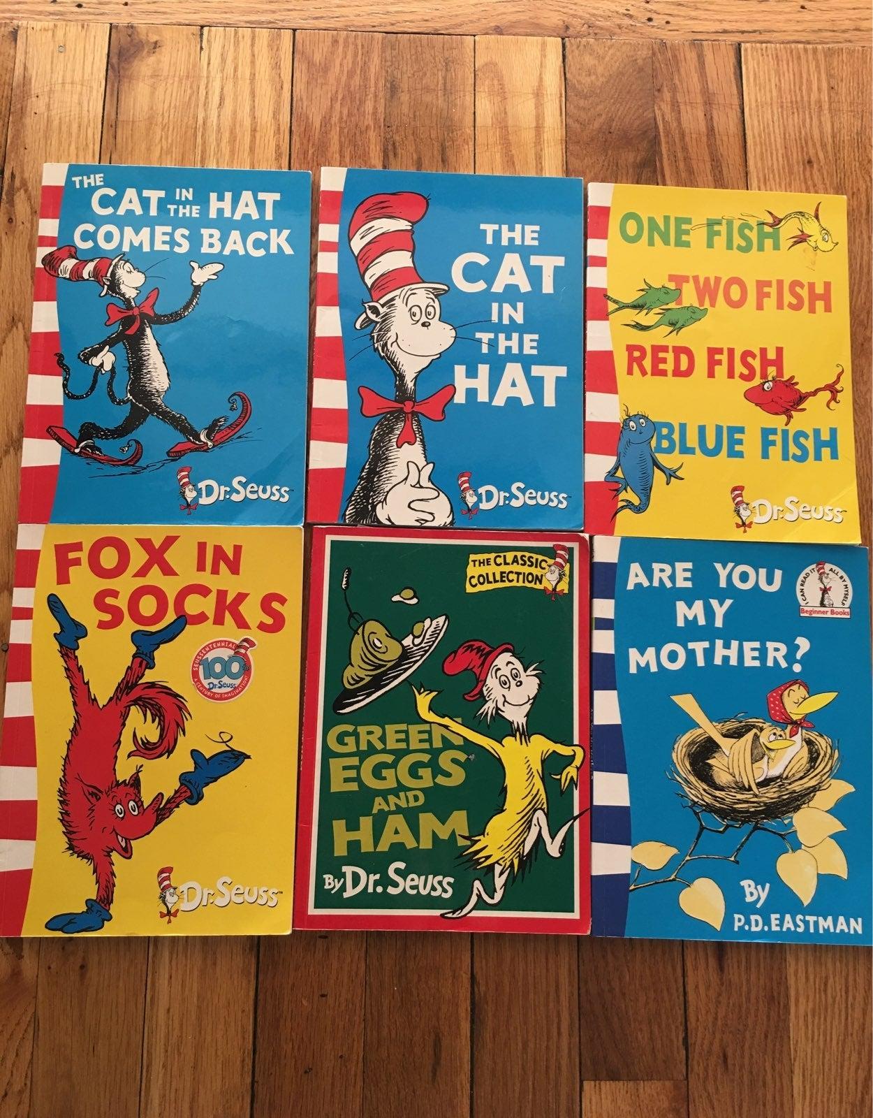 Dr. Seuss Book lots