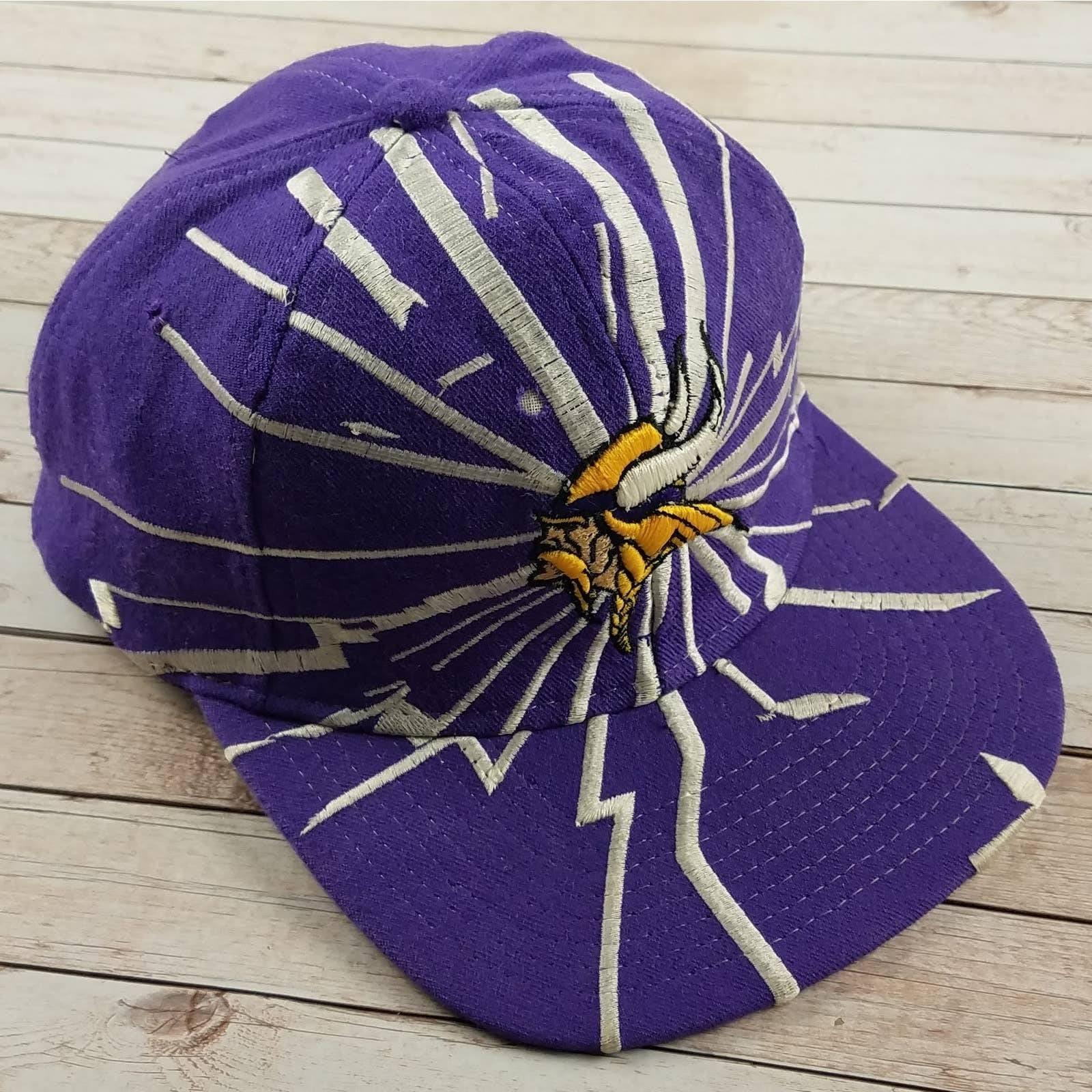 VTG 90s MN Vikings Starter Collision Hat