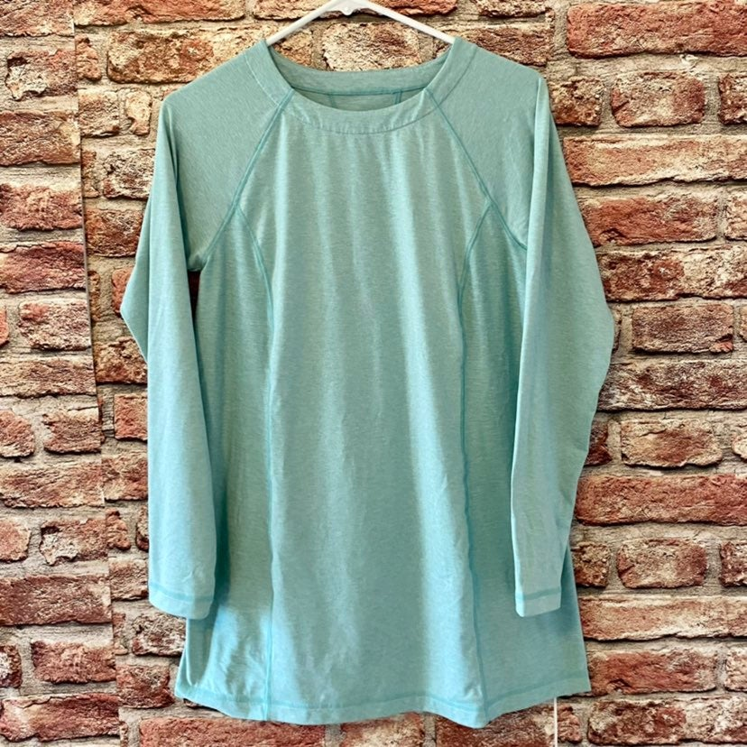 J Jill Fit Marled Tunic Active Shirt