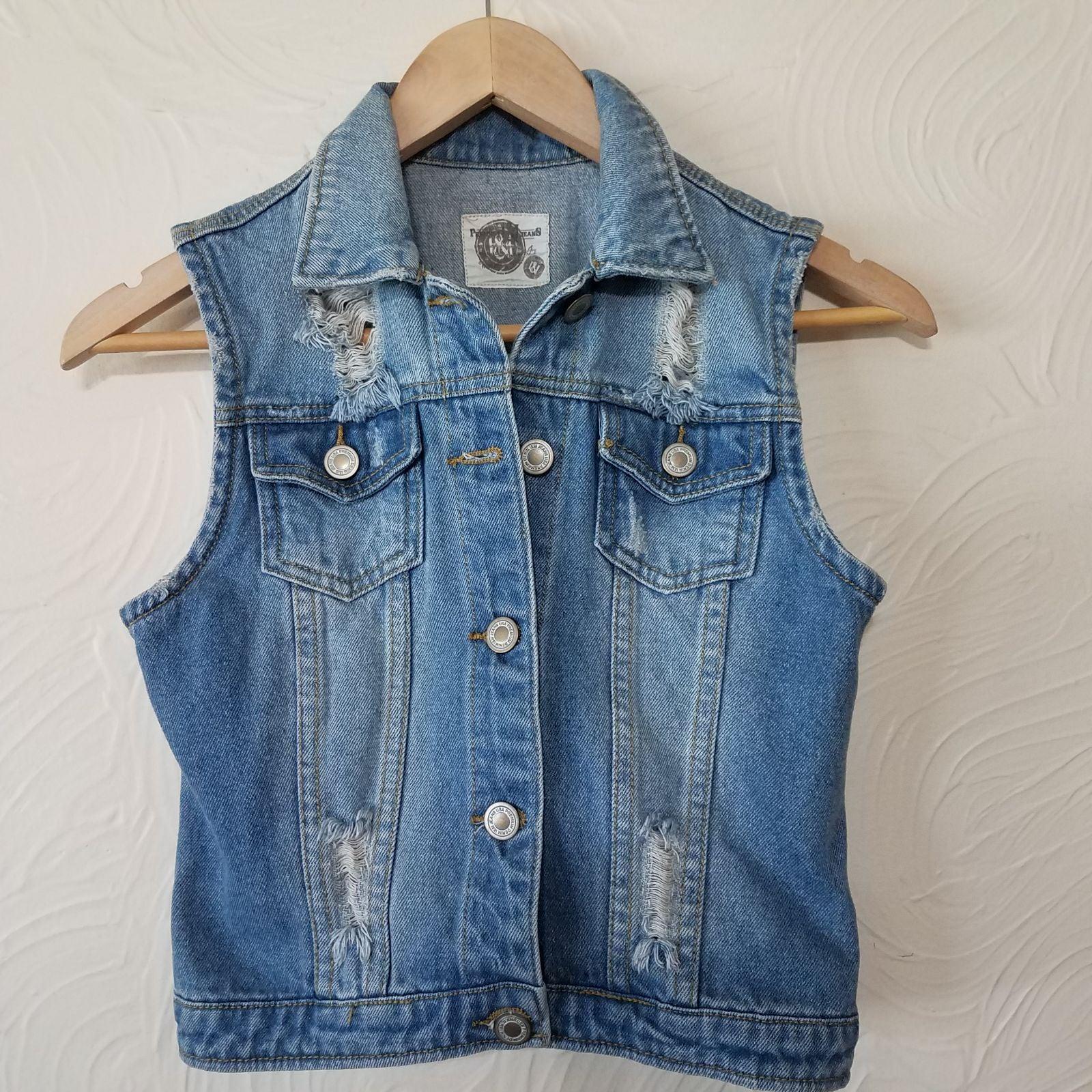 Denim Jackets   Jean Vest size small