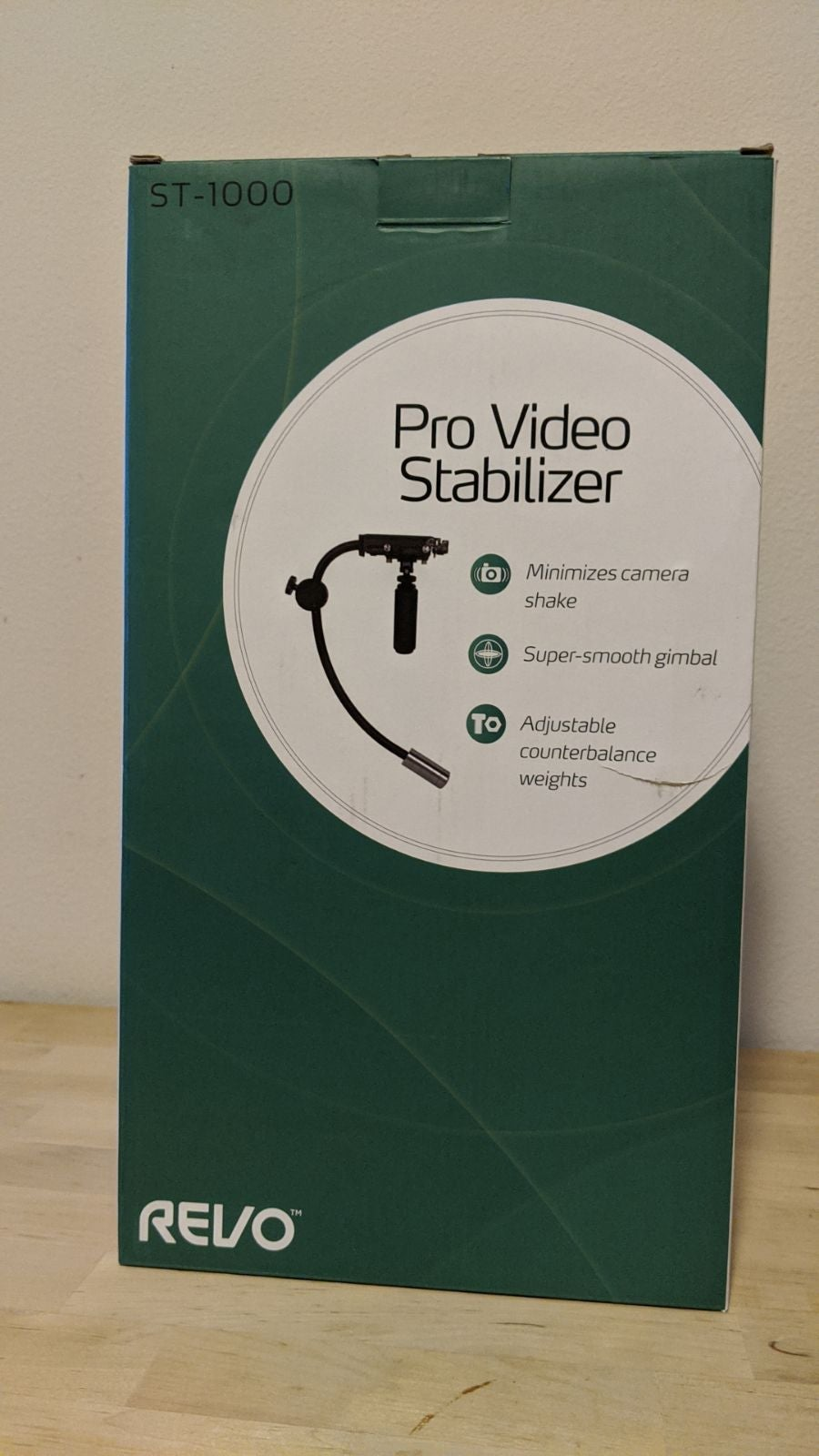 Revo Video Stabilizer ST-1000