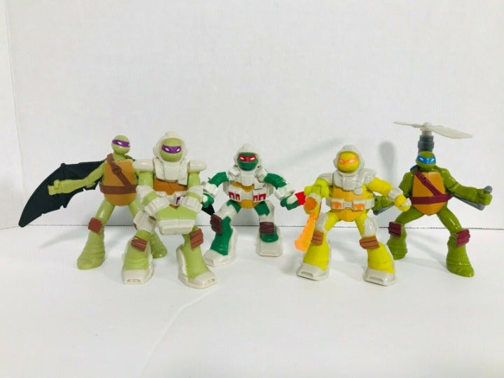 TMNT Action Figure Lot of 5