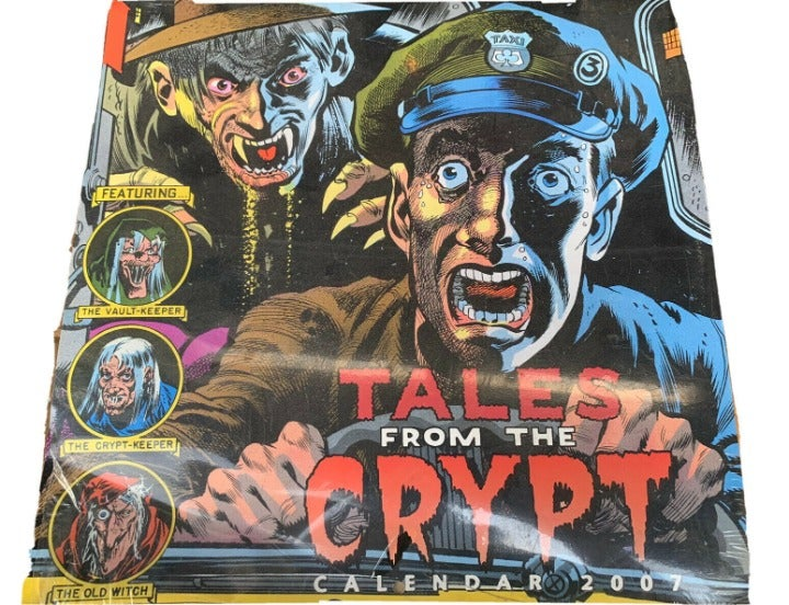Tales from the Crypt 2007 Calendar