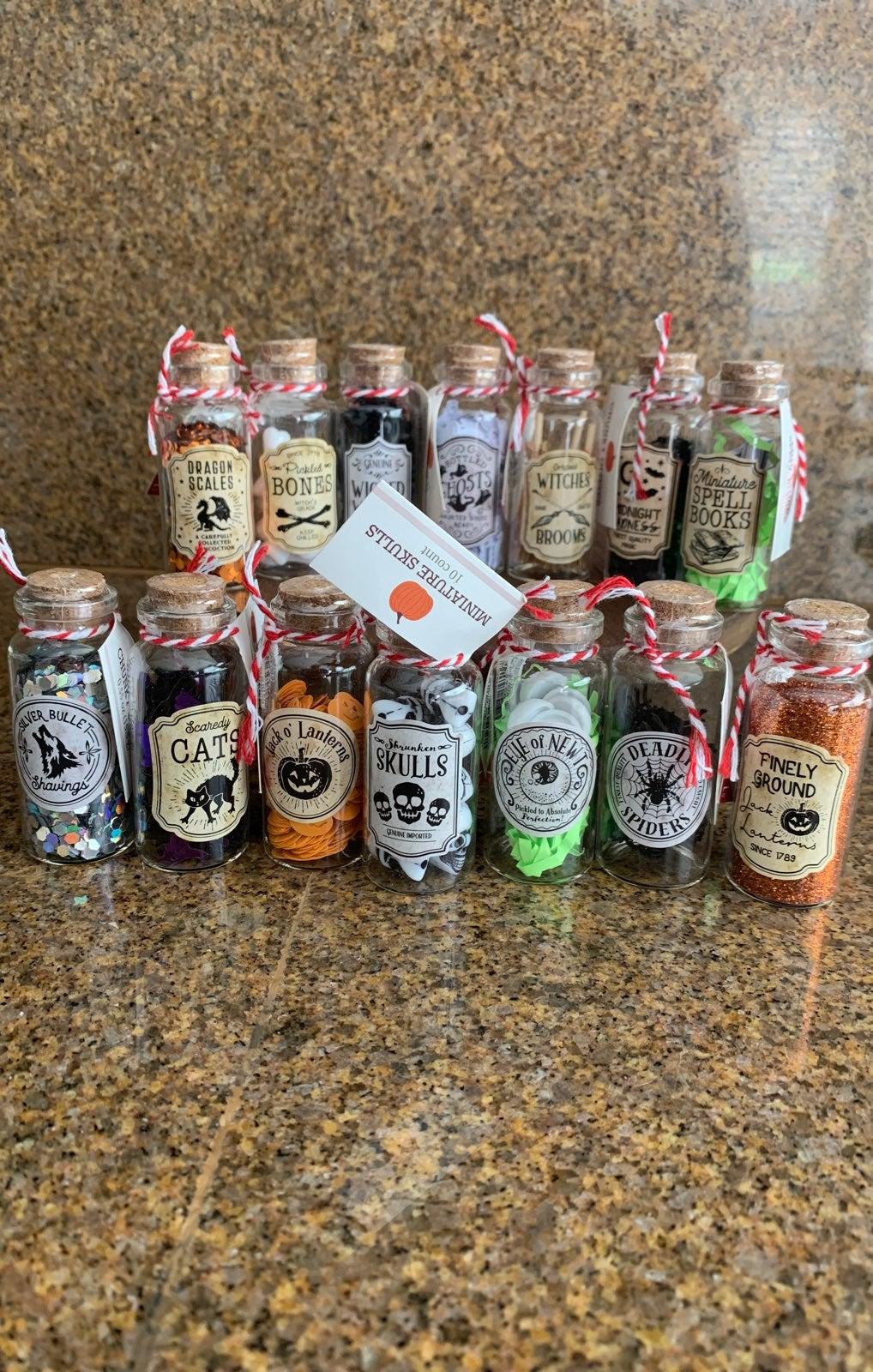 Target Potion Bottles Full Set 14