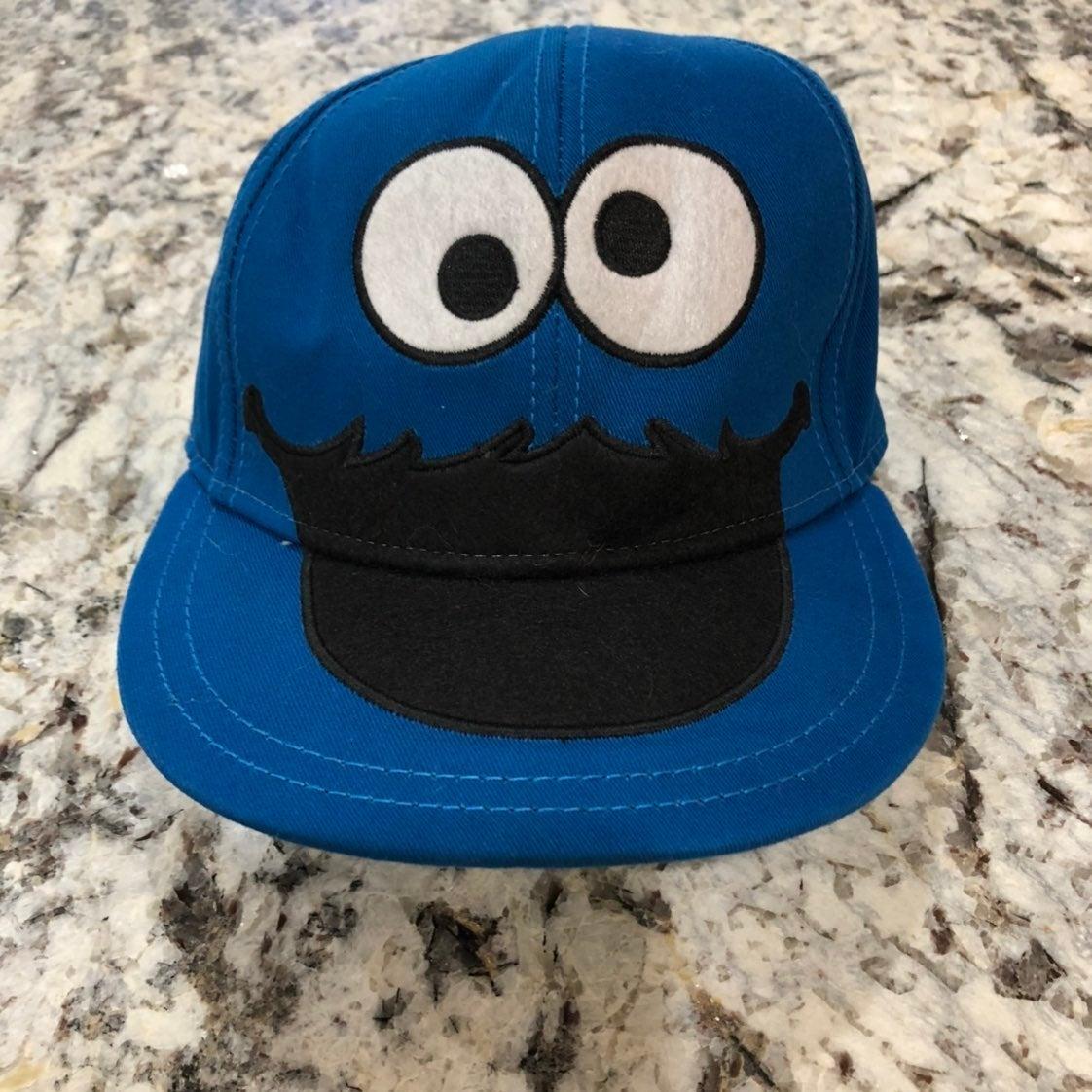 Cookie Monster Hat Sesame Street S/M