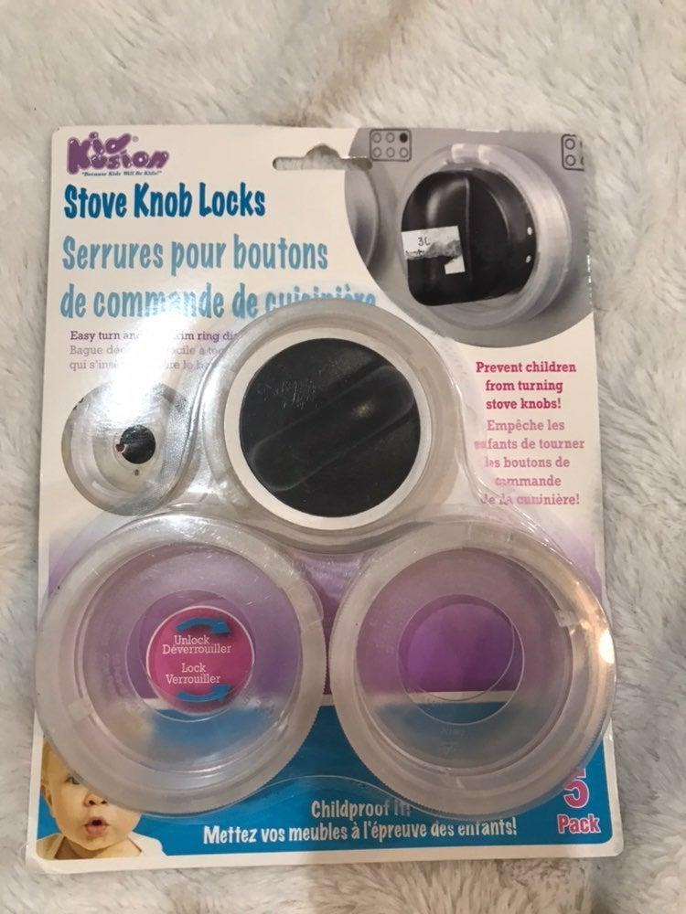Kusion Stove Knob Locks New 5 Pack Knobs