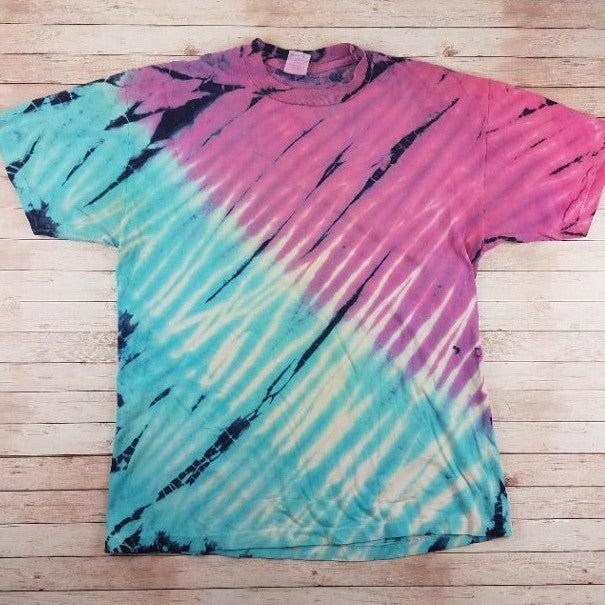 VTG 90s Tie-Dye Single Stitch Tee Shirt