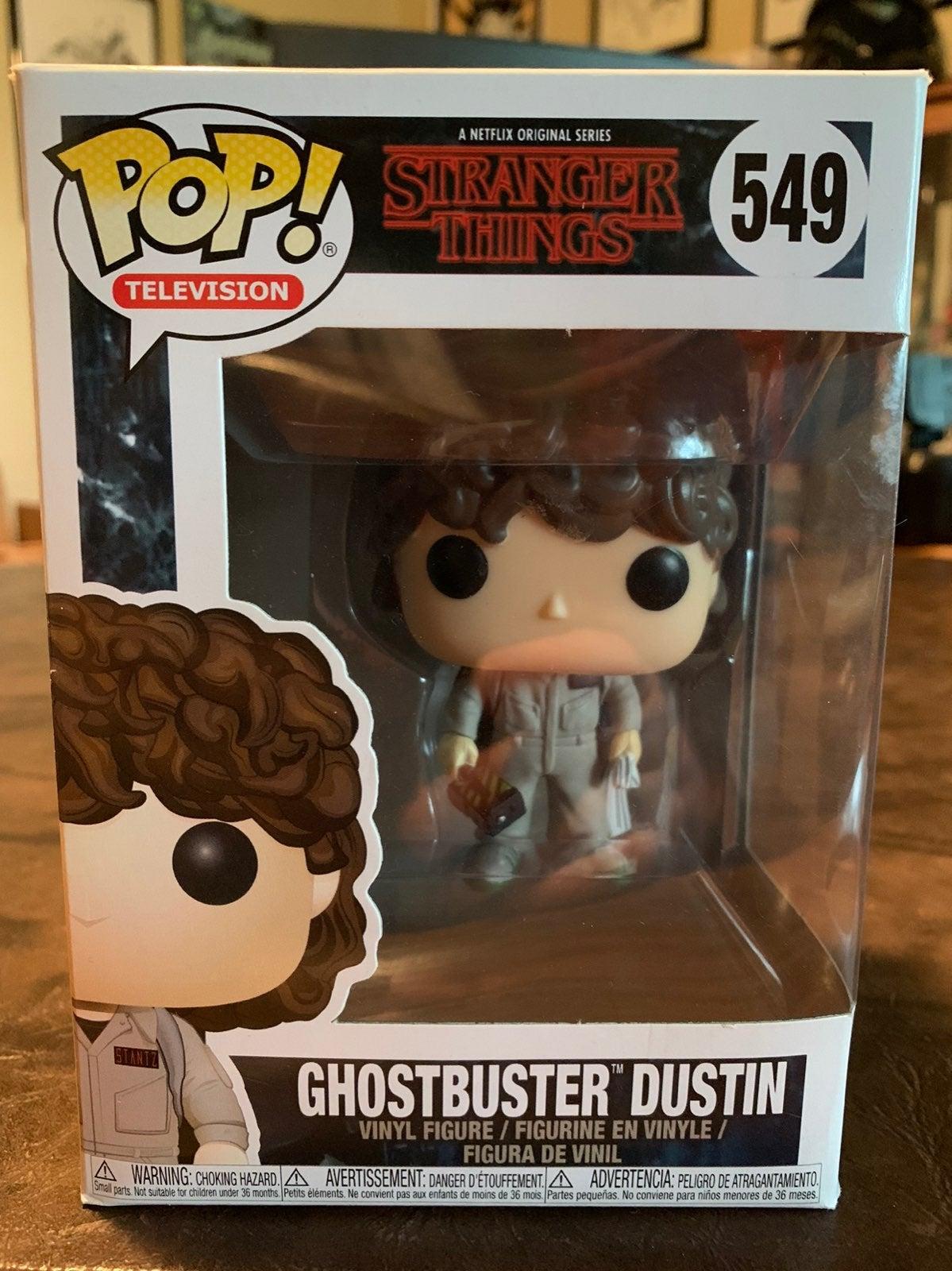 Ghostbuster Dustin Funko Pop!
