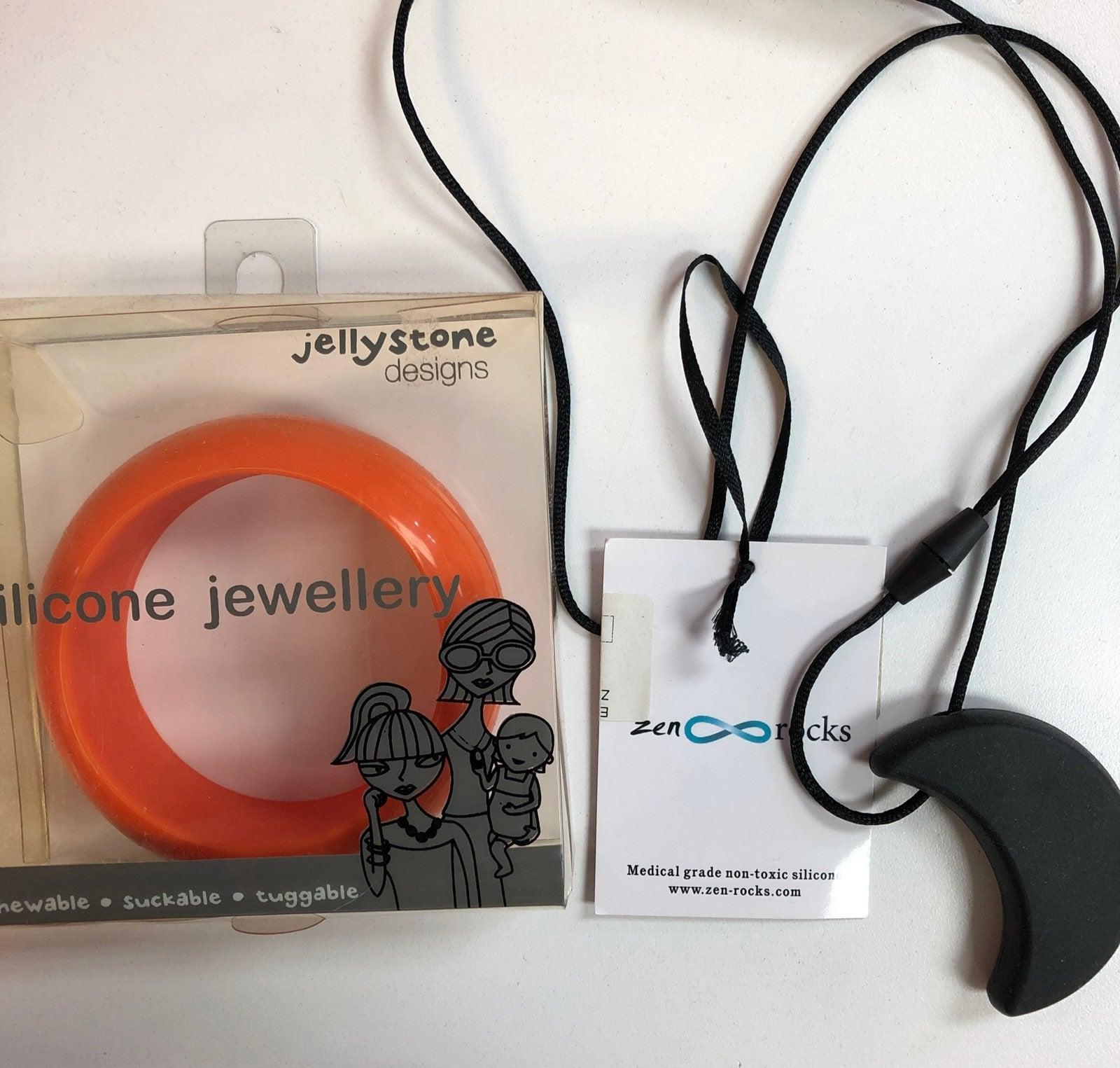 Terthing necklace and bracelet bundle
