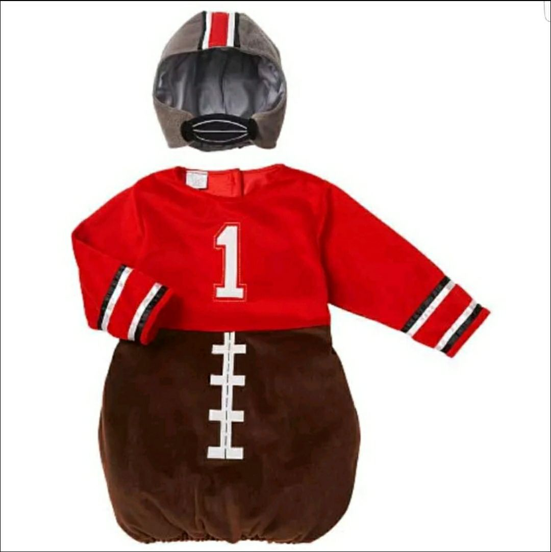 NEW Baby Football Costume Dress Up 9-12M