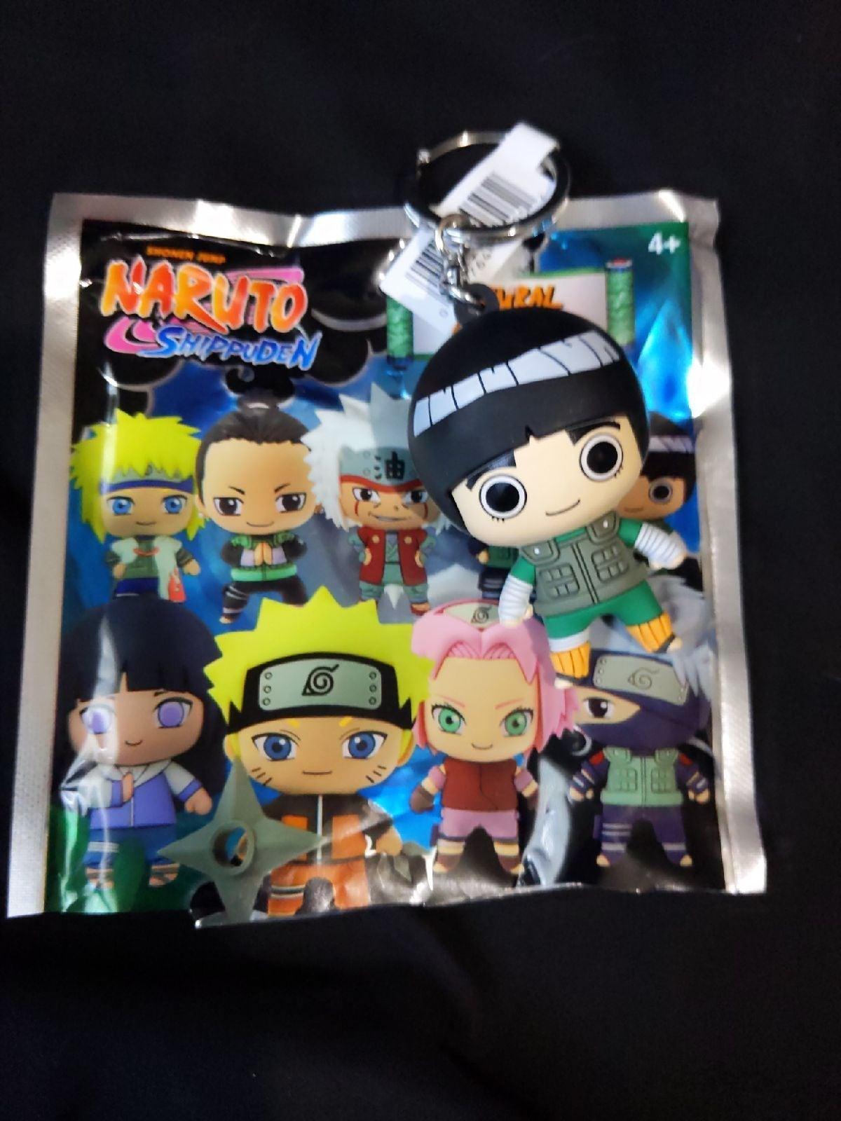 Naruto blind bag keychain