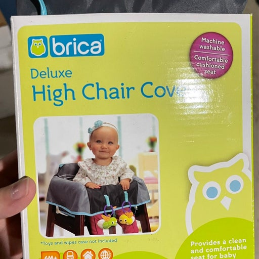 Deluxe high chair cover