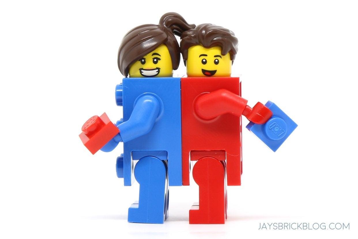 Lego minifigure series 18 lego boyngirl
