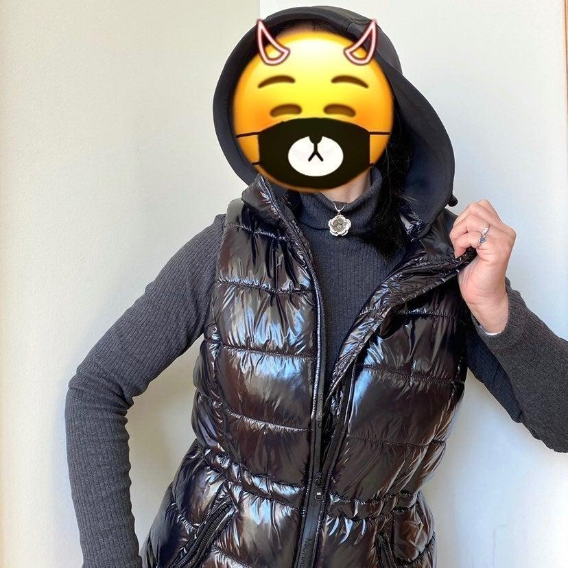 NWT Michael Kors black puffer vest