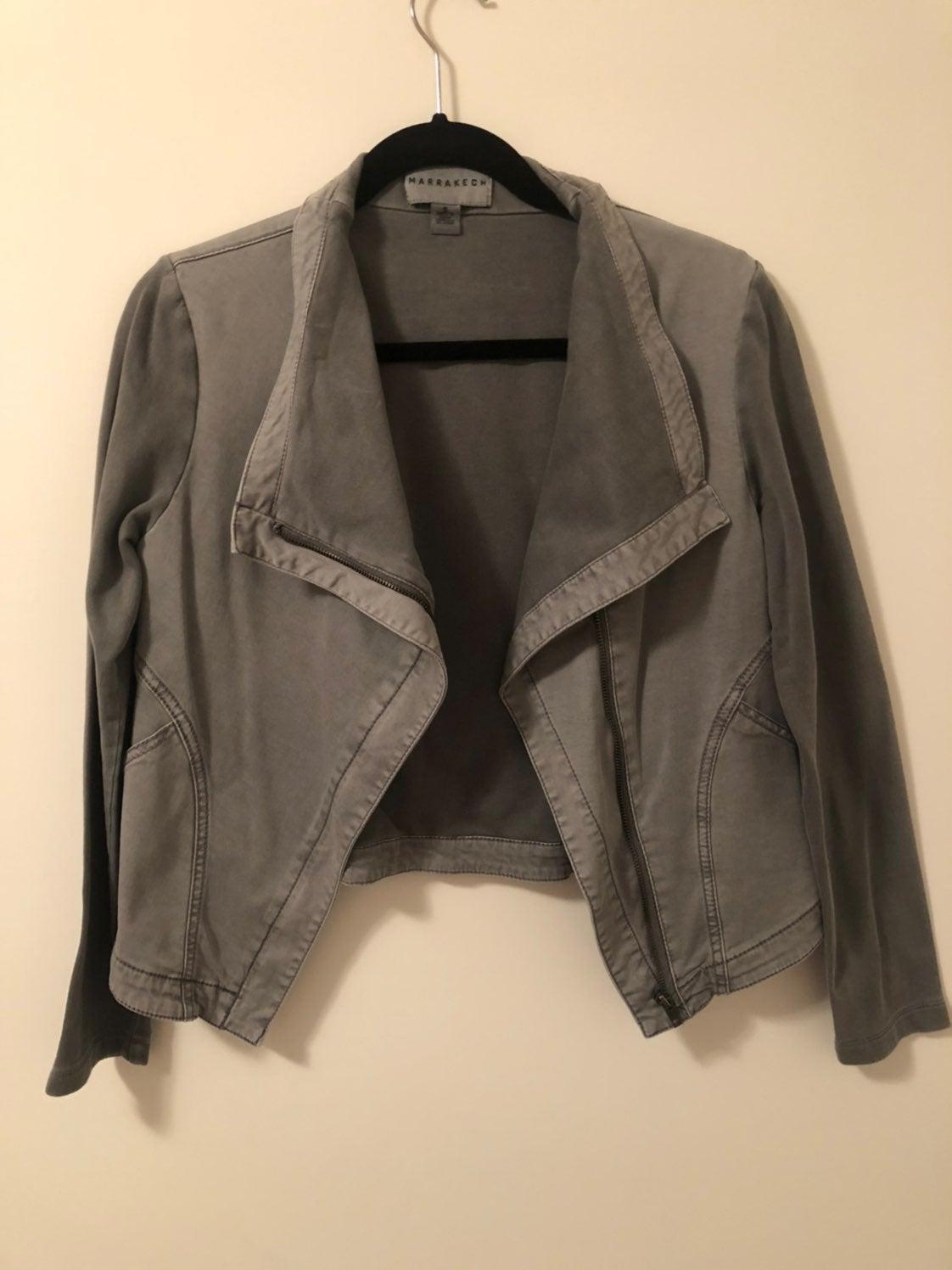 Marrakech Womens Grey Light Jacket