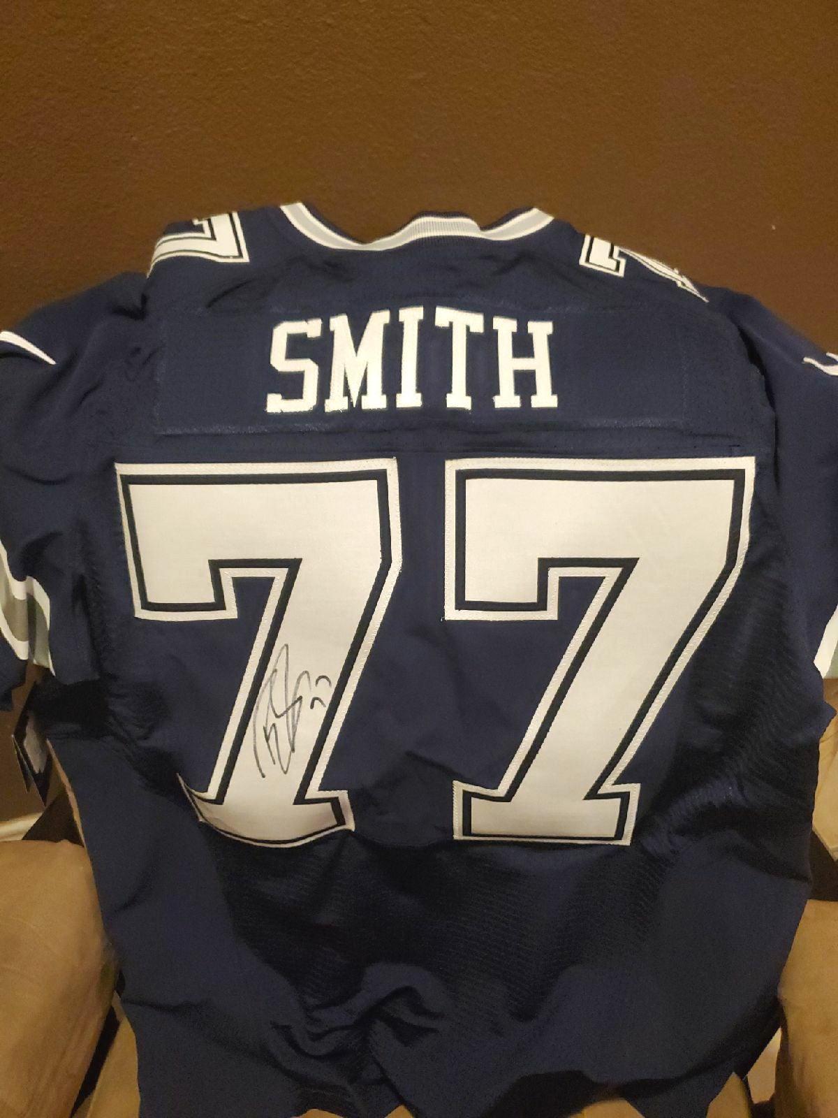 Dallas Cowboys Tyron Smith Autographed J