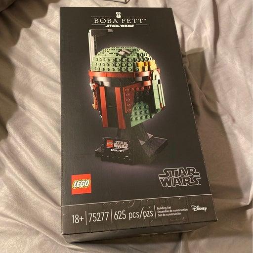 Star wars boba fett lego helmet