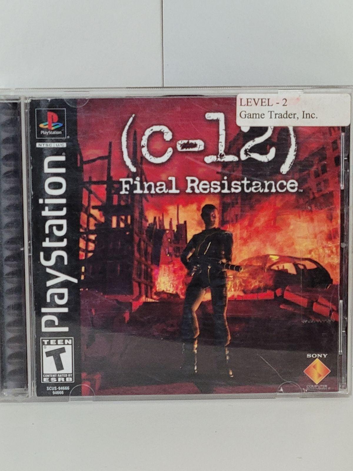 C-12: Final Resistance on Playstation 1