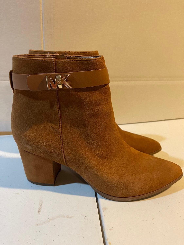 MK Women Leather Booties