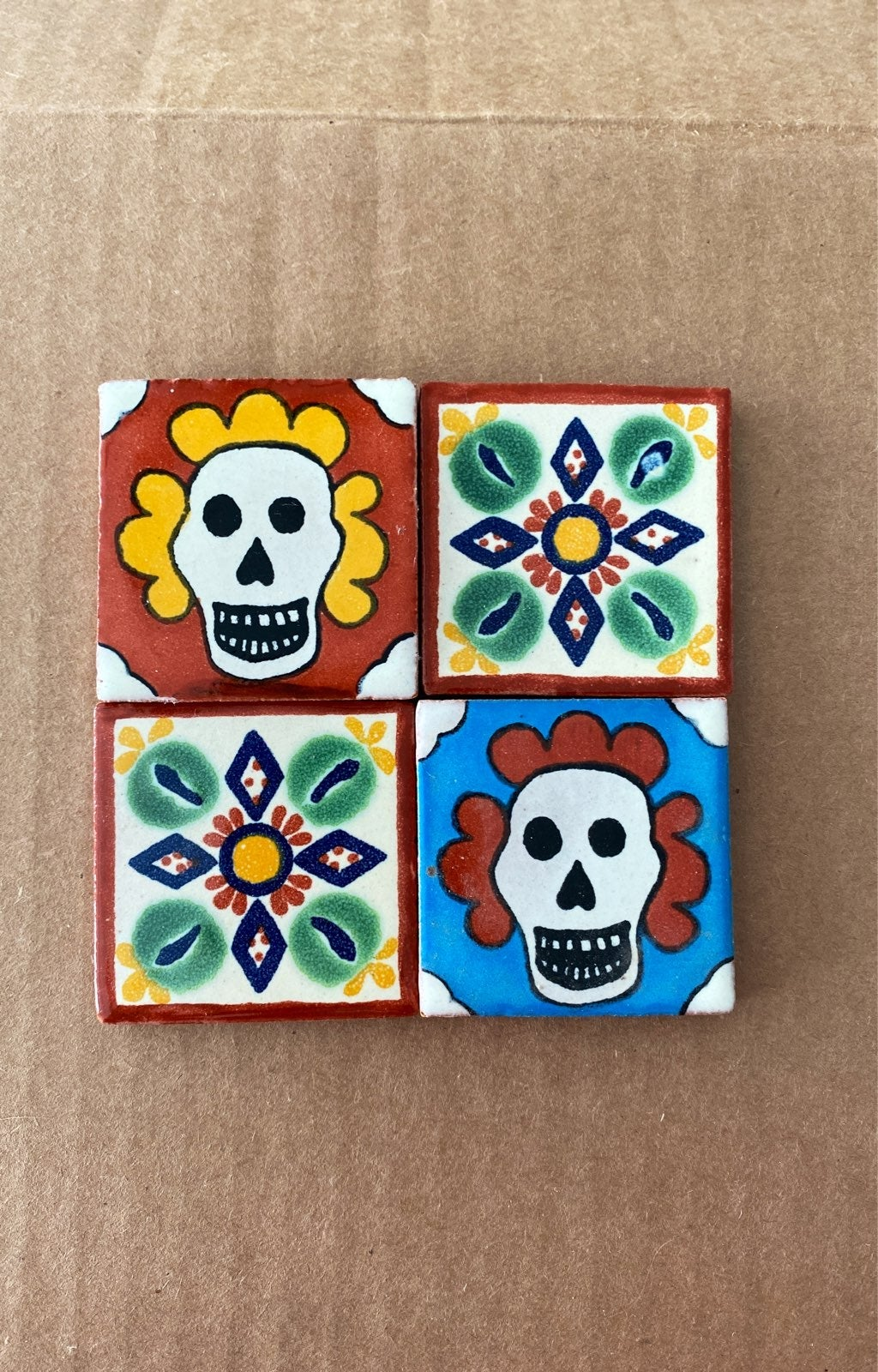 Mexican talavera tiles