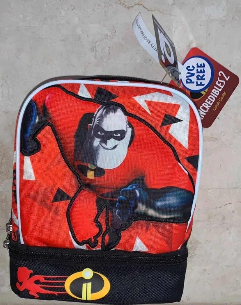 Disney Incredibles 2 Lunch Box Cooler