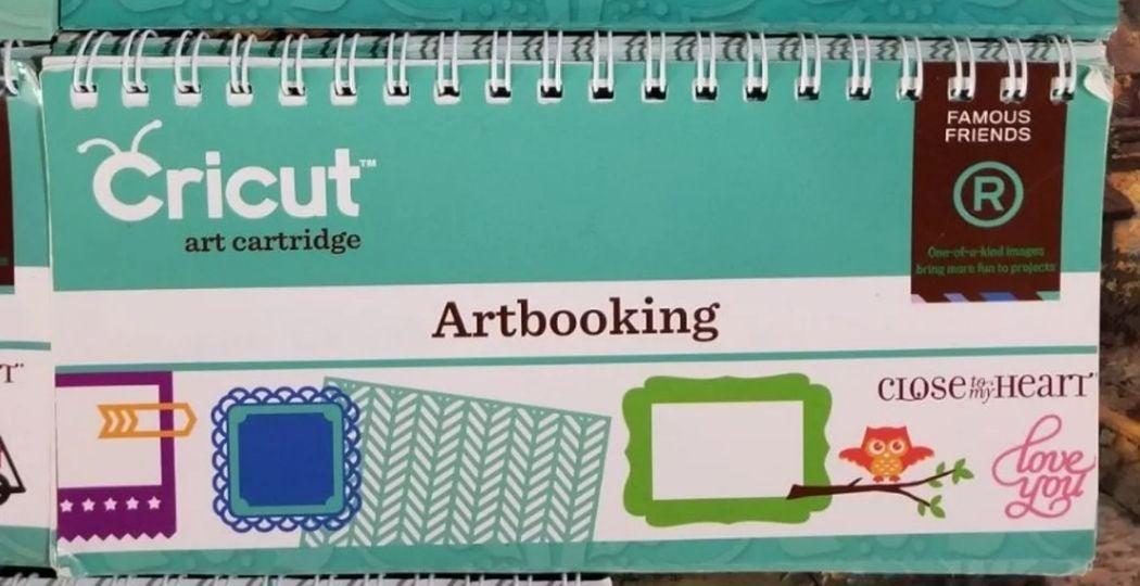 Reserved Gails Goodies Cricut Artbooking